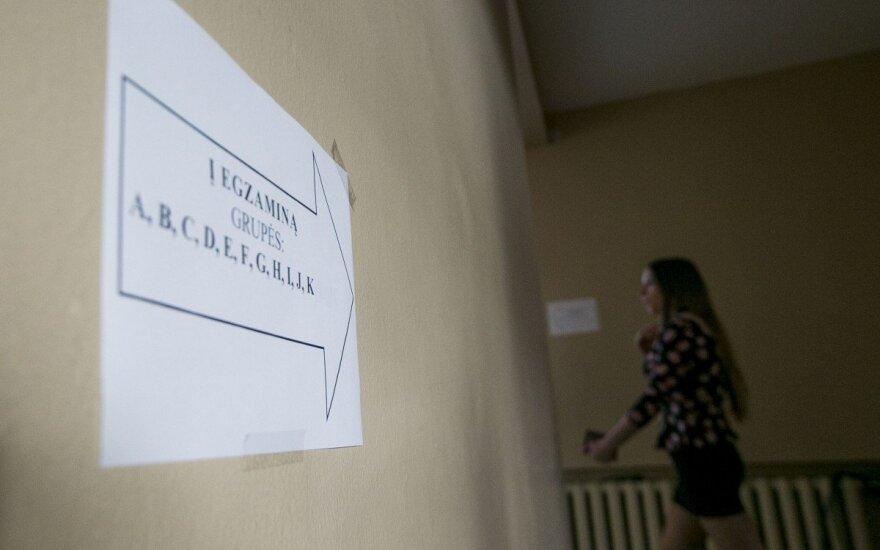 Dėl prasto lietuvių kalbos egzamino rezultato gali būti kalta sistema