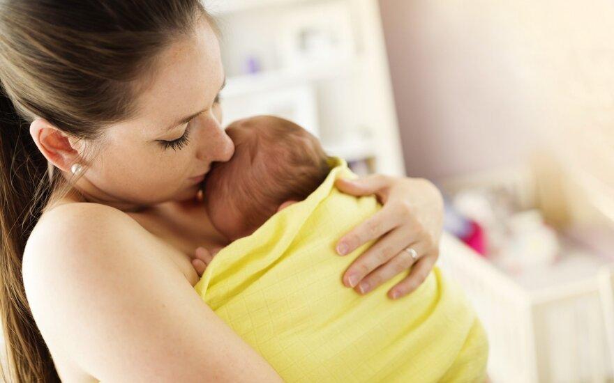 Ar epidūras kenkia vaikui ir kiti klausimai apie gimdymą