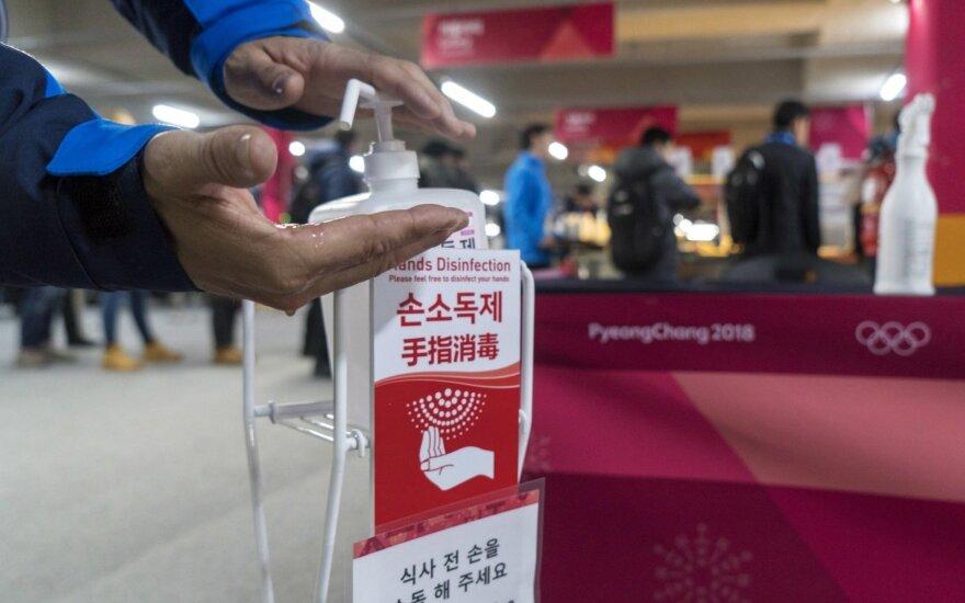 Pjongčango olimpiadoje siaučia norovirusas