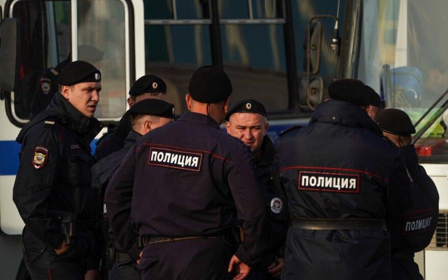Maskvoje sulaikytas šnipinėjimu įtariamas amerikietis