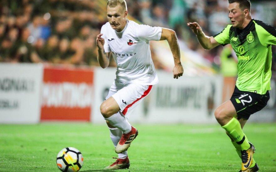 UEFA reitinge – pastebimas Lietuvos futbolo klubų progresas