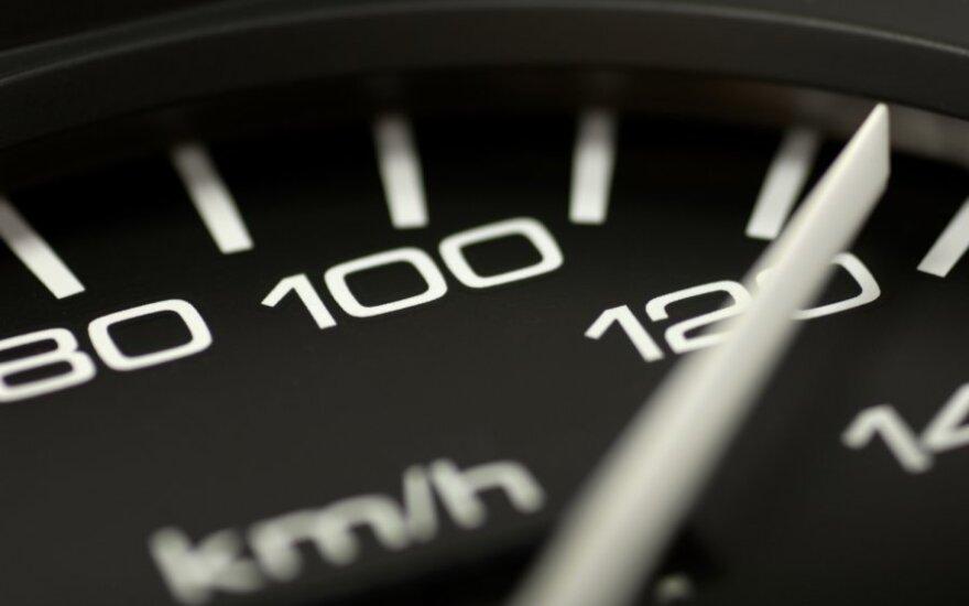 Greitis, greičio viršijimas