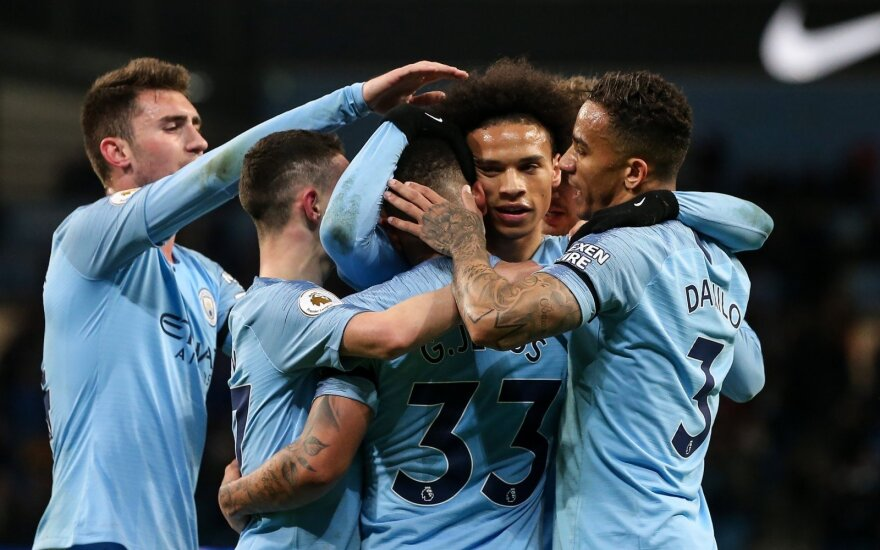 """Manchester City"" sveikina Leroy'ų Sane"