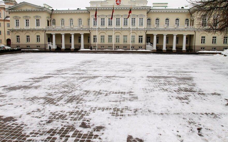 Kad pastatytų Prezidentūrą, nugriovė dalį Vilniaus universiteto