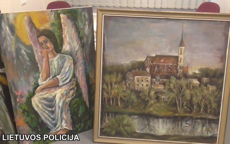 Tokių giminių nelinkėtumėte niekam: nugvelbė vertingus palangiškio tapytojo darbus