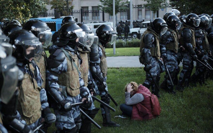 Rusijos opozicija prašo Maskvos savivaldybės leidimo rugpjūčio 17 d. rengti mitingą