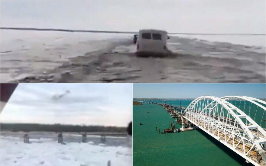 Rusijoje sugriuvo pavojingiausiu vadintas tiltas