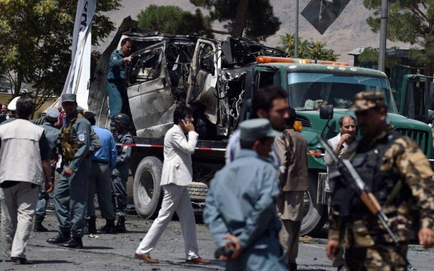 Kabule driokstelėjo trečias galingas sprogimas