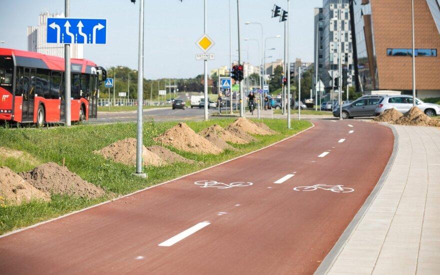 Pilaitėje – naujas dviračių ir pėsčiųjų takas