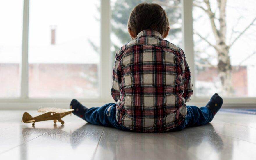 Socialinę atskirtį išgyvena vaikai