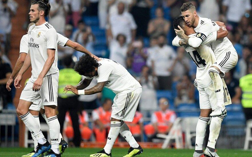 """Ispanijoje – beveidis """"Atletico"""" ir ryžtingas """"Real"""""""