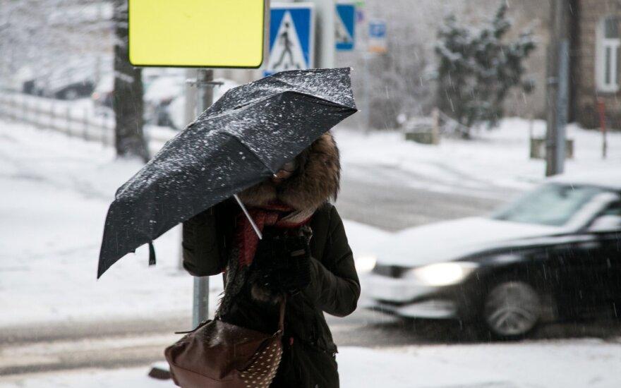 Ministerija: dėl oro sąlygų daliai vaikų galima neiti į mokyklas