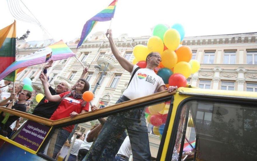 Vilniuje homoseksualai ir jų rėmėjai reikalaus lygybės
