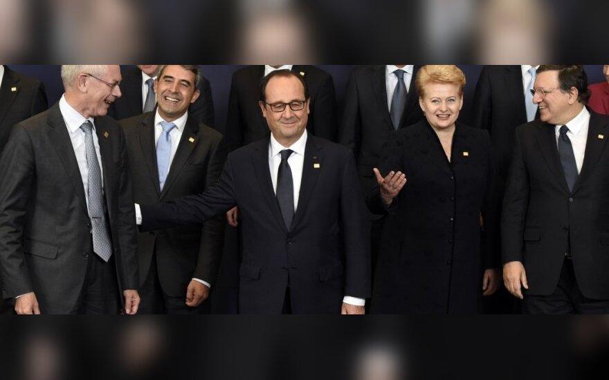 Pokyčiai: ES lyderiai atsisako bendrų nuotraukų