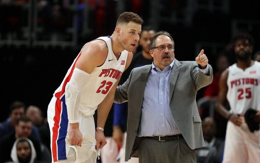 Blake'as Griffinas ir Stanas Van Gundy