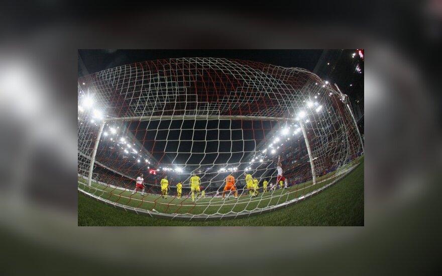 """Įvartis į """"Villarreal"""" klubo vartus"""