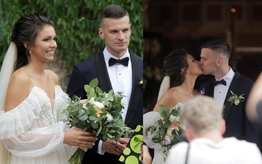 Gintarė Jasiunskaitė ir Tomas Dimša