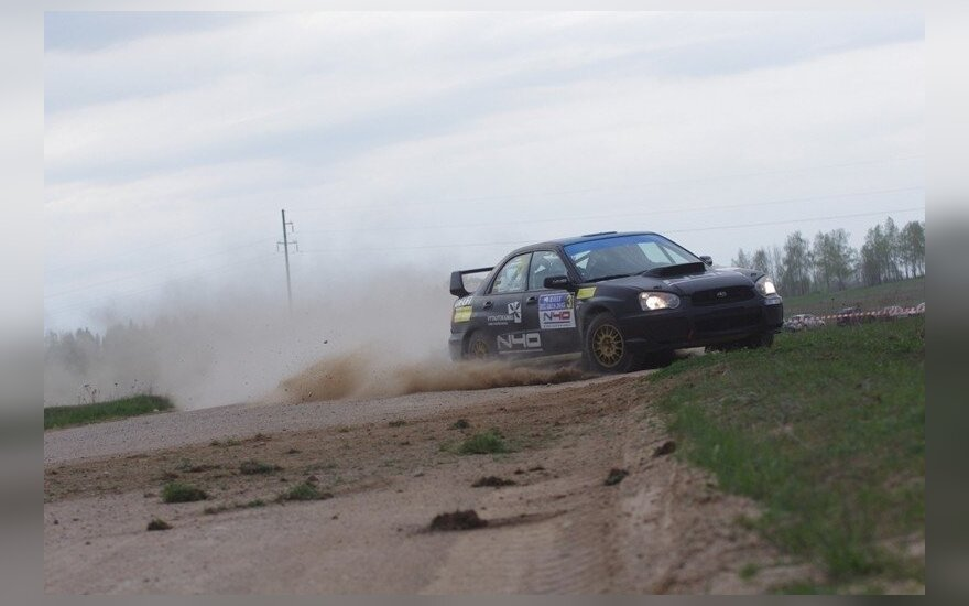 Baltarusijos ralio pirma diena (D. Kibirkščio nuotr.)
