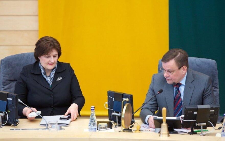 Loreta Graužinienė, Vydas Gedvilas