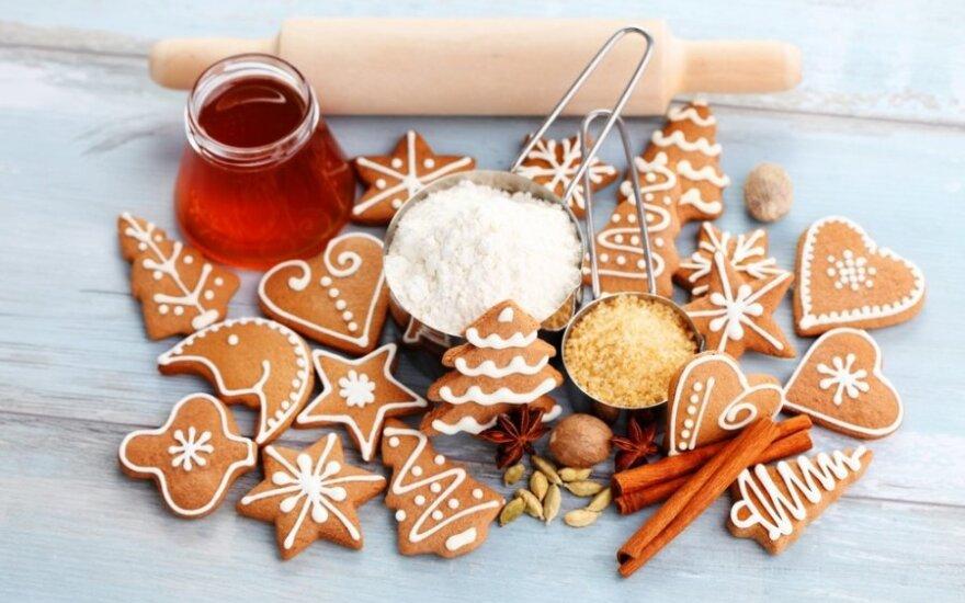 Metas kalėdiniams meduoliams