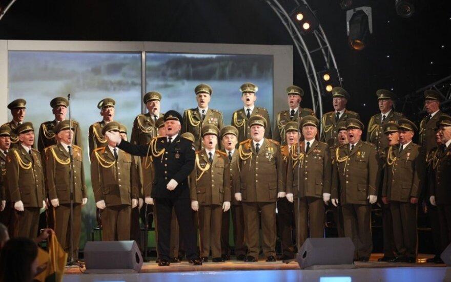 """Vilniaus įgulos karininkų ramovės vyrų choras """"Aidas"""""""
