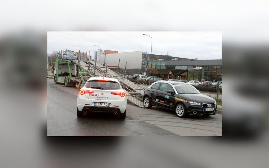 """""""Metų automobilio 2011"""" dalyviai – į bandymų poligoną Druskininkuose"""