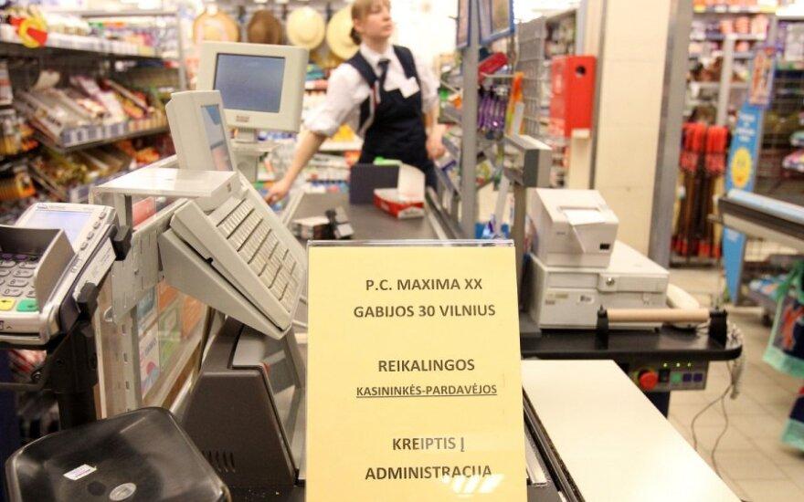 """Parduotuvė """"Maxima"""" ieško darbuotojų"""