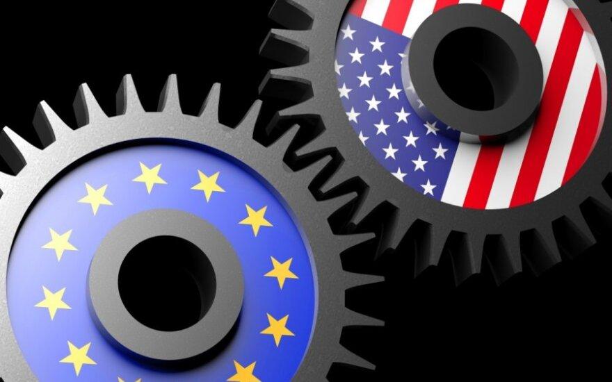 ES ir JAV šią savaitę gali pasiekti kompromisą dėl Trumpo muitų