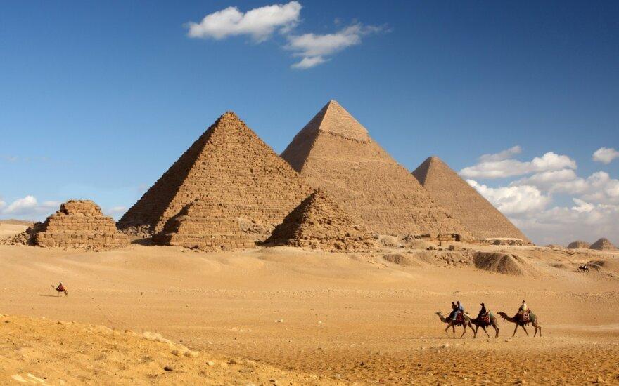 Reikšmingiausias XXI a. Egipto radinys atskleidė, kaip buvo statoma Gizos piramidė