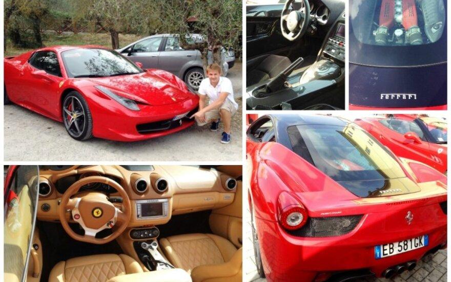 Atostogos Italijoje - su superautomobiliais