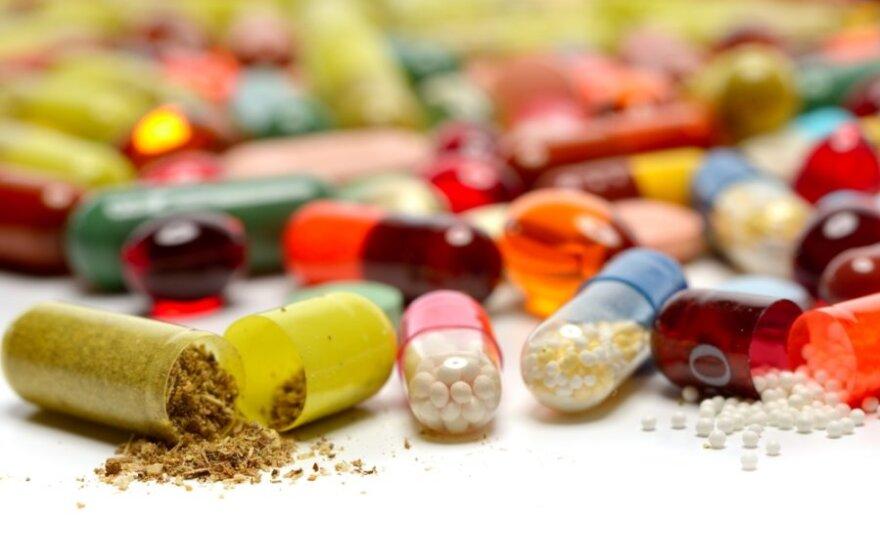 Kokie vitaminai gali pakenkti sveikatai
