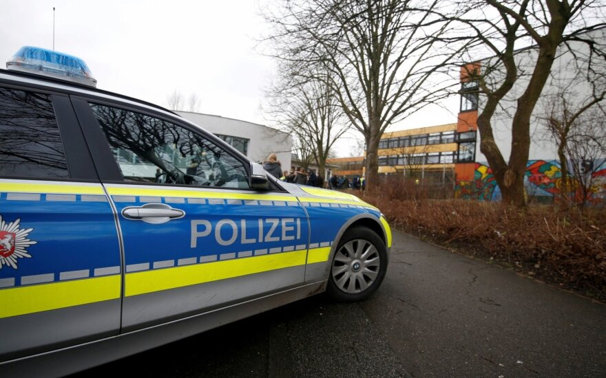 Vokietijoje – incidentas autobuse: yra sužeistųjų