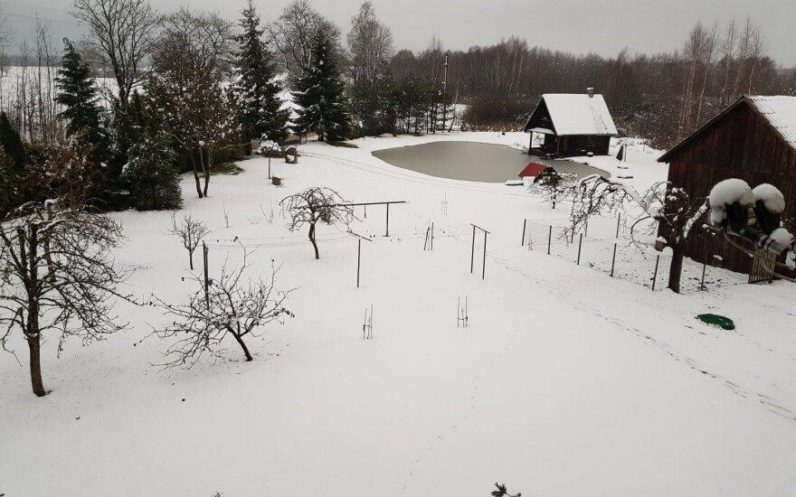 """Gruodžio orai: sniego bus, tačiau yra didelis """"bet"""""""
