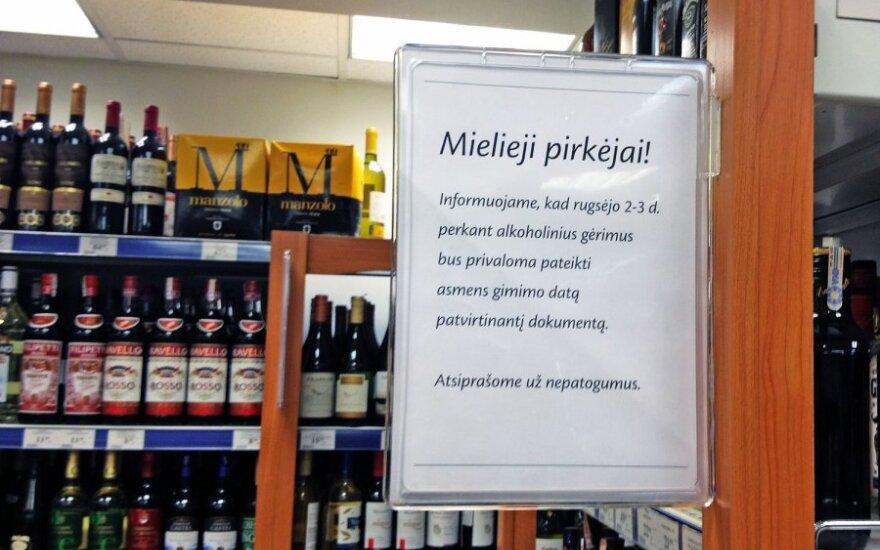 """""""Maximoje"""" alkoholis – tik atskleidus gimimo datą"""