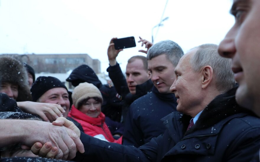 Vladimiro Putino vizitas Čerepovece