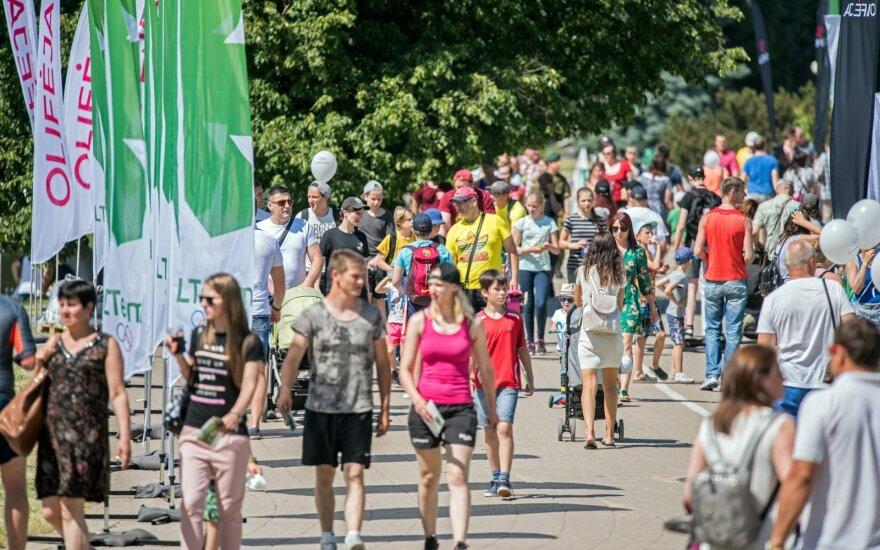 Olimpinė diena Panevėžyje