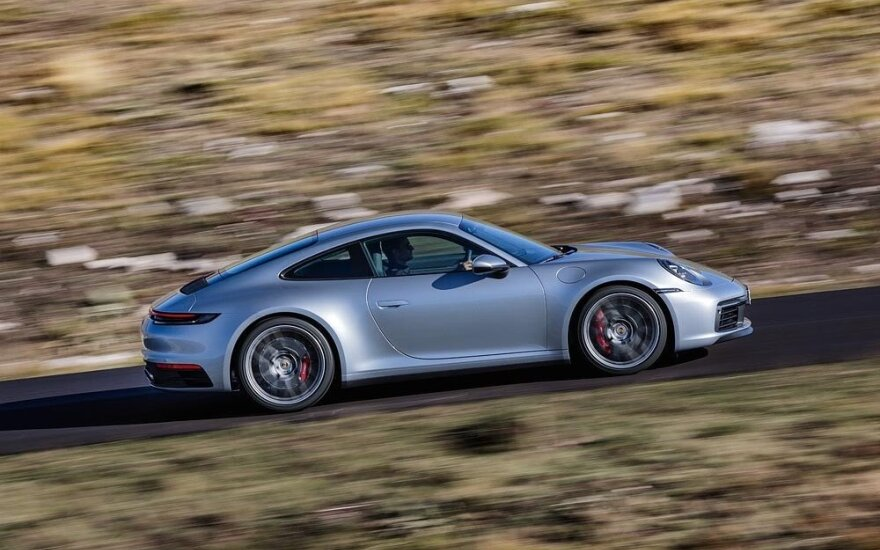 """JAV pristatytas naujas """"Porsche 911"""""""