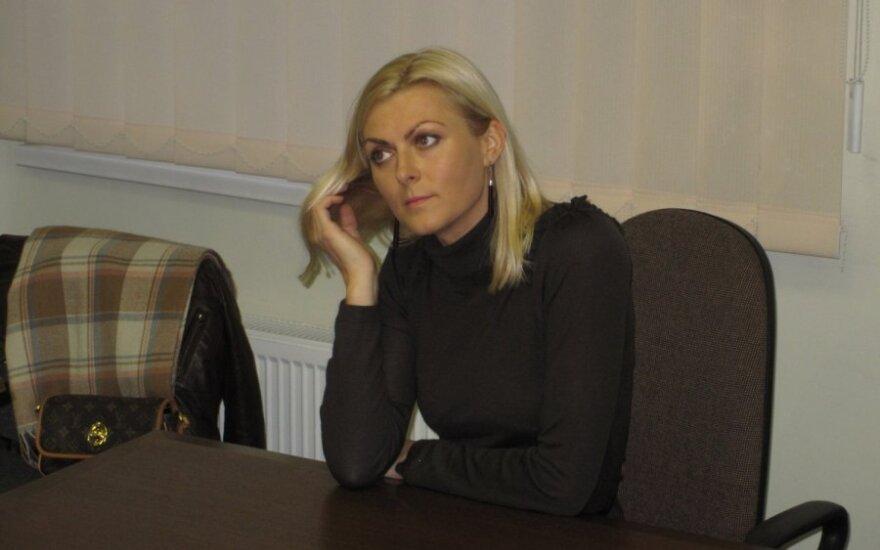 Eglė Jackaitė teisme