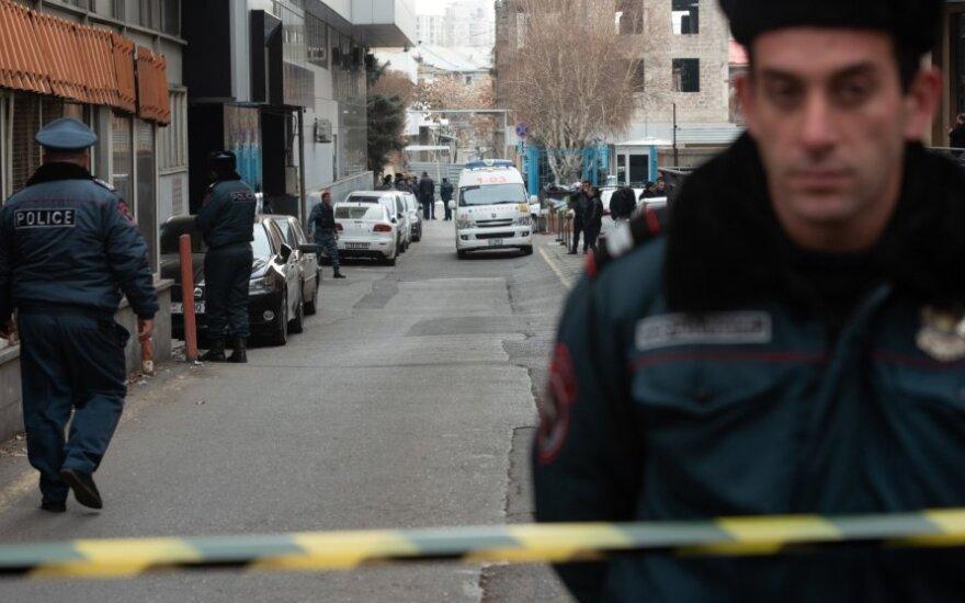Armėnijos policija