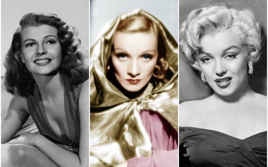 R. Hayworth, M. Dietrich, M. Monroe