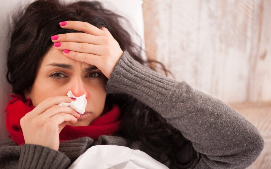 Flu epidemic declared in 24 out of 60 Lithuanian municipalities