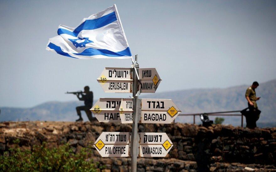 JAV: Izraelio nausėdijos neprieštarauja tarptautinei teisei