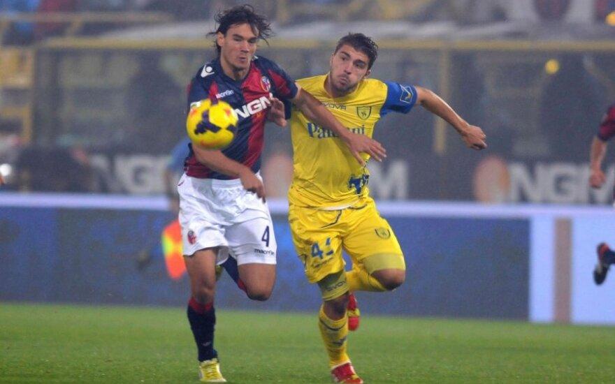 """""""Bologna"""" ir """"Chievo"""" klubų dvikova"""
