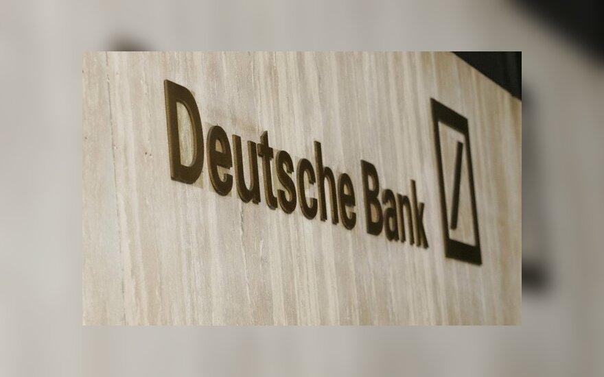 """""""Deutsche Bank"""" iš Londono iškelia didelę dalį tarpuskaitos operacijų"""