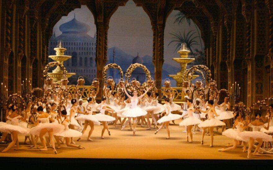"""Maskvos Didžiojo teatro baleto pastatymas """"Korsaras""""."""