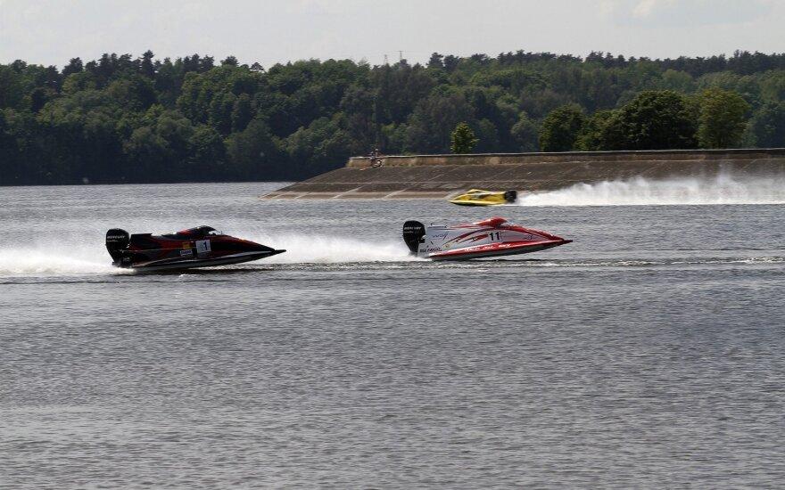 Baltijos motorlaivių čempionatas Kauno mariose