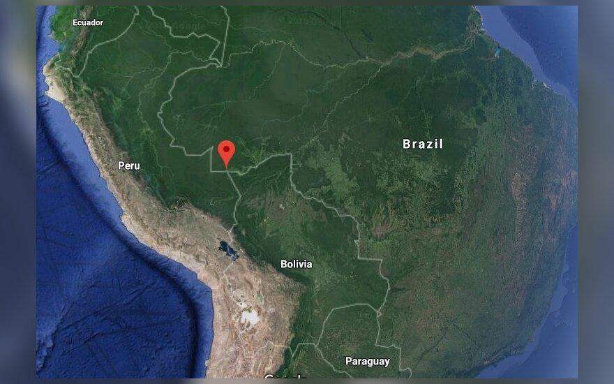 Peru ir Brazilijos pasinį supurtė žemės drebėjimas