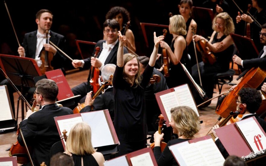 Mirga Gražinytė-Tyla išrinkta geriausia pasaulyje dirigente