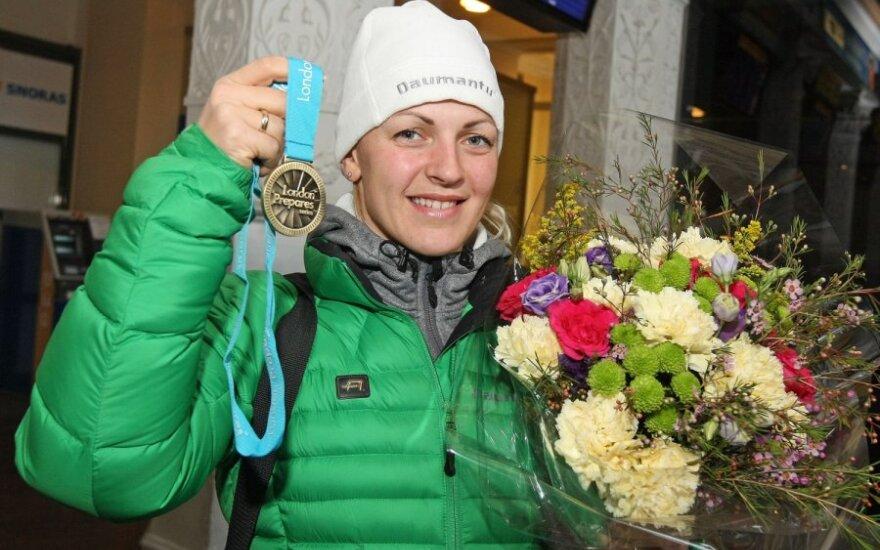 S.Krupeckaitė: pergalė Londone dar nereiškia, kad ir olimpinėse žaidynėse būsiu čempionė