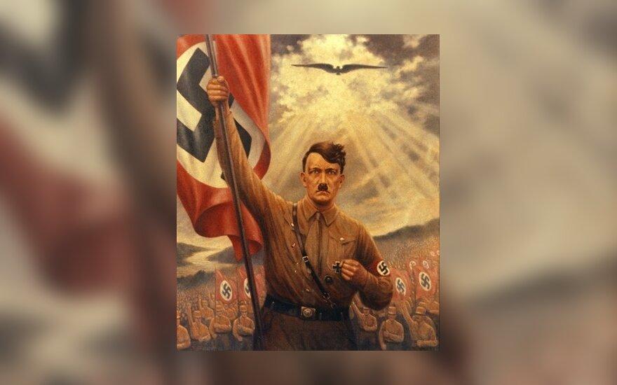 Klaipėdoje naktį plazdėjo fašistinė vėliava
